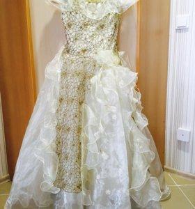 Платье бальное в пол👗👑