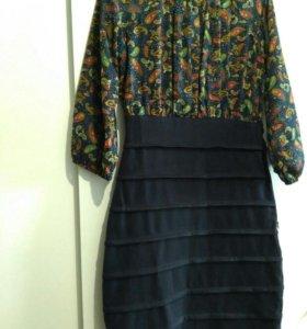 Платье как с воланами