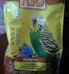 Корм Rio для волнистых попугаев