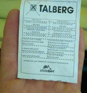 Палатка 3х местная Talberg Atol 3