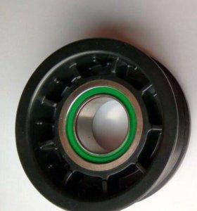 Шкив компрессора кондиционера на VW transporter t5