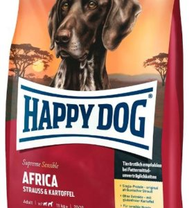 Happy Dog Africa сухой корм для собак 12,5кг