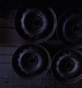 Штампованные диски от шевроле лачети