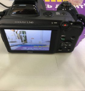 Фотоаппарат Nikon L340 20 Mpx