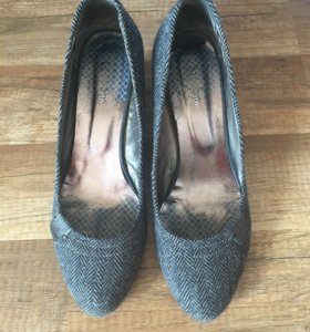 Туфли женские танкетка