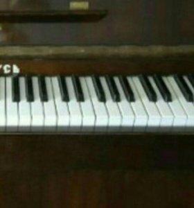 Пианино 3 трех педальное.