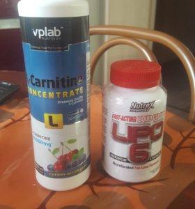 L-Carnitine и Lipo 6
