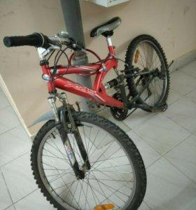 Горный велосипед.