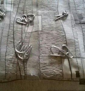 Головоломки металлические