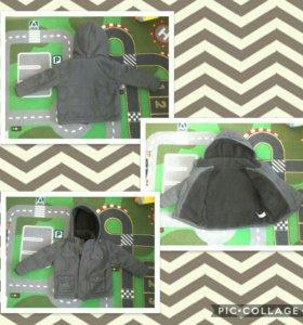 Куртки, комплект  осень-зима рр.80-92