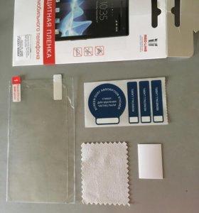 Защитная плёнка на Alcatel One Touch pop 2