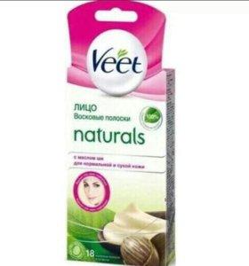 Восковые полоски Veet для нормальной и сухой кожи