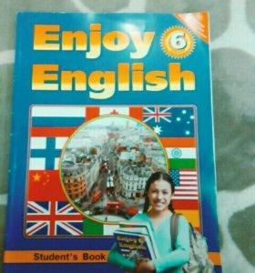 Учебник по аглискому языку за 6 класс Биболетова.