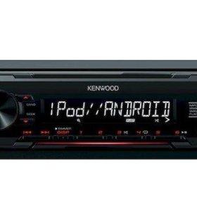 KENWOOD Проигрыватель KMM-103RY MP3, USB, AUX (5)