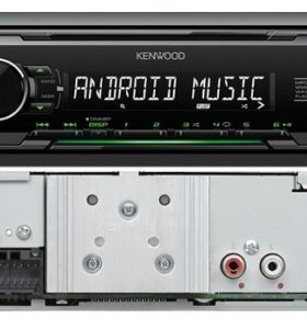 KENWOOD Проигрыватель KMM-103GY MP3, USB, AUX (5)