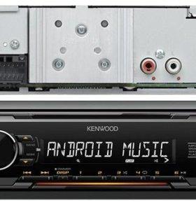 KENWOOD Проигрыватель KMM-103AY MP3, USB, AUX (5)