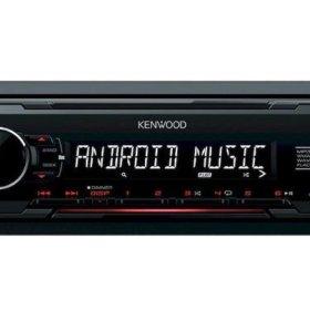 KENWOOD Проигрыватель KMM-102RY MP3, USB, AUX (5)