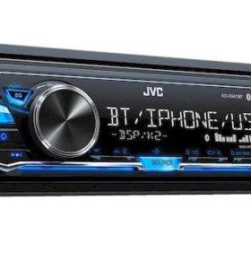JVC Проигрыватель KD-X145 MP3, USB JVC