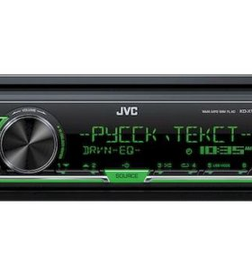 JVC Проигрыватель KD-X143 MP3, USB JVC