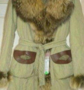 Итальянское шикарное новое пальто Luxury