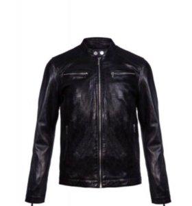 Новая кожаная куртка 52 р