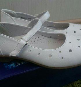 Туфли  новые 35 р-р