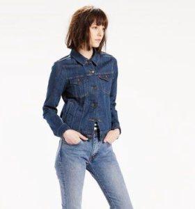 Куртка джинсовая LEVI'S на 50-52р