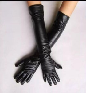 Перчатки натур кожа