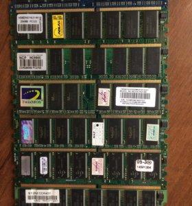 Оперативная память DDR 1 и SDRAM