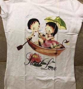 Новая футболка 46р