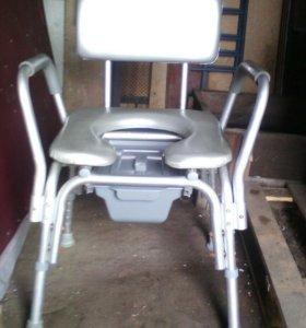 Стул биотуалет для инвалидов.