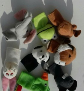 Икеа пальчиковые игрушки