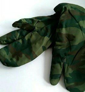 Новые зимние рукавицы
