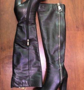 Ботфорты кожаные демисезонен 36 размер
