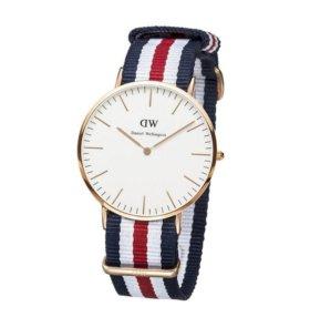 Часы Daniel Wellington унисекс + Подарок mp3 плеер