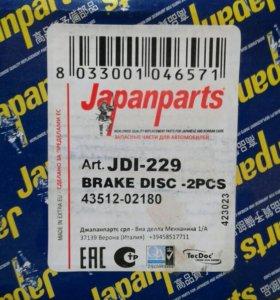 Тормозные диски передние Rav 4 ll