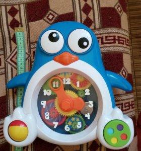 Пингвиненок часы