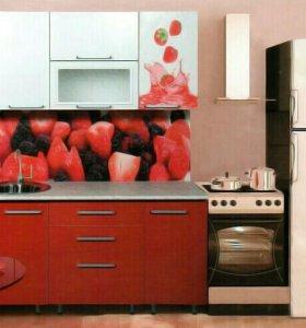 Кухонный гарнитур микс фотопечать