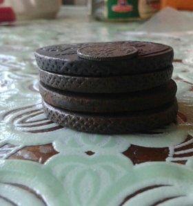Пять монет