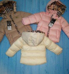 Детские куртки Burberry 👶🏽