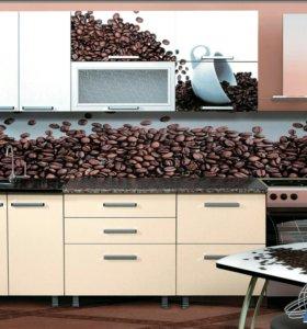 Кухонный гарнитур мокко фотопечать
