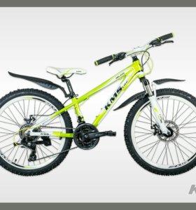24'' KMS MD210 велосипед алюм 21-скор диск