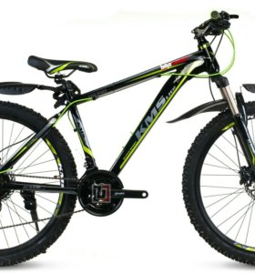 26'' KMS НD340 велосипед алюм 21-скор диск гидрав