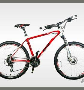 26'' KMS HD500 велосипед 24-скор алюм диск гидравл