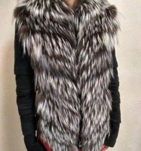 Курточка из чернобурки