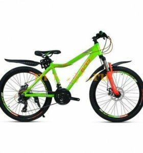 26'' KMS MD800 велосипед 21-скор диск
