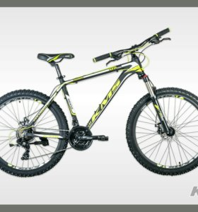 26'' KMS MD450 велосипед алюм 21-скор диск