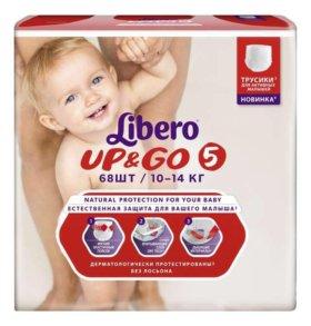 Трусики-подгузники Libero Up&Go Size 5 10-14 кг,68