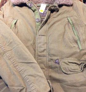 Abercrombie&fitch куртки милитари из США