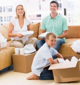 Семейные переезды: услуги грузчиков